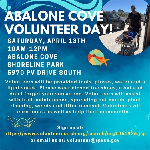 abalone cove volunteer day
