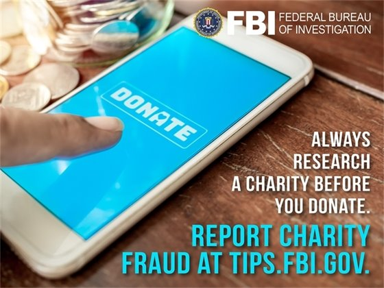 Beware of Charity Fraud