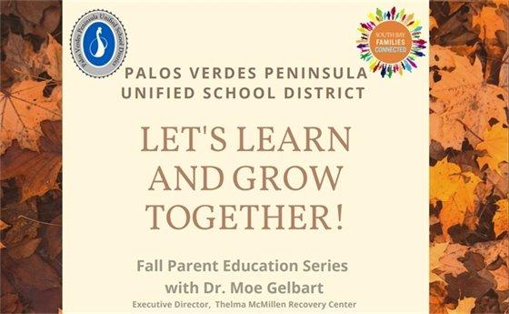 Fall Parent Education Series