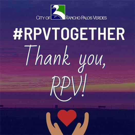 Thank you, RPV!