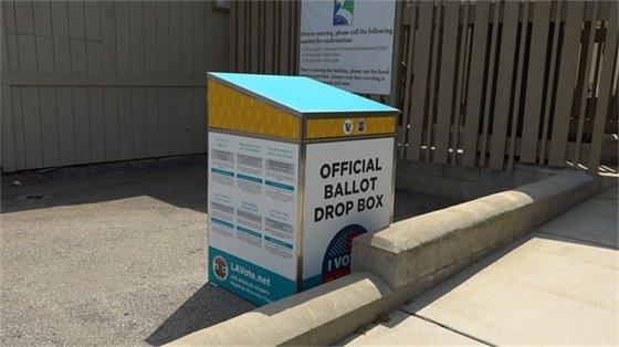 City Hall Drop Box