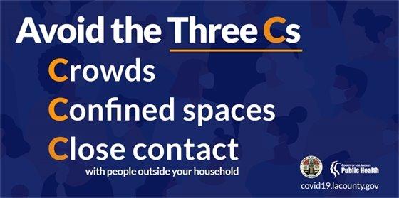 Avoid the 3 C's