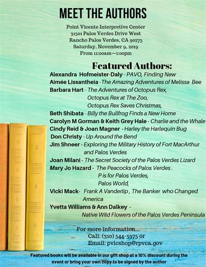Meet the authors featured authors