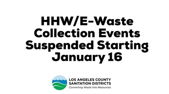 HHW/E-Waste Events