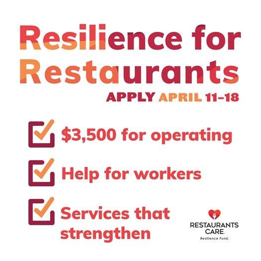 Resilience for Restaurants