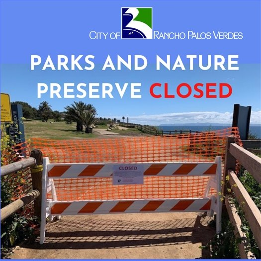Parks and Nature Preserve Closed