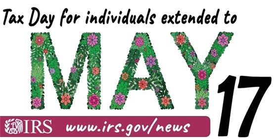 May 17 Tax Day
