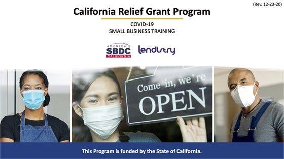 California Relief Grant Program
