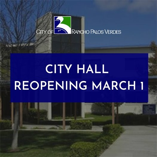 City Hall Reopening March 1