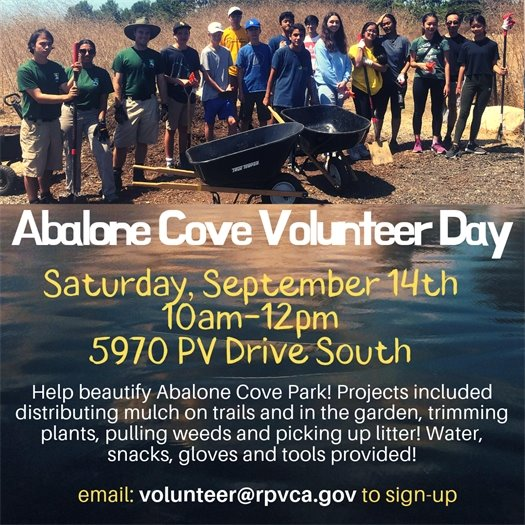 Abalone Cove Volunteer Event