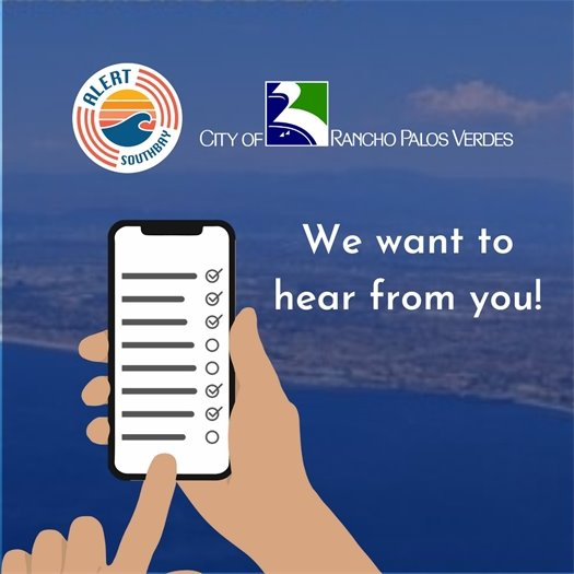 Alert SouthBay Community Survey #3