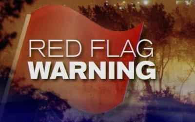Red Flag Warning Issued