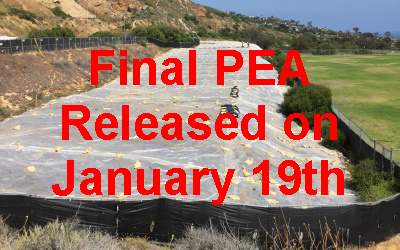 Final PEA Approved for Ladera Linda Fields