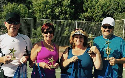 Paddle Tennis Winners B Division