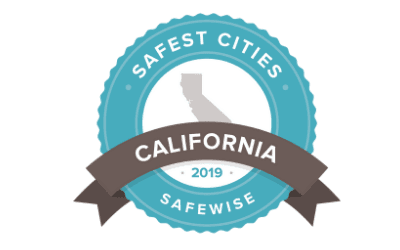 safest cities california