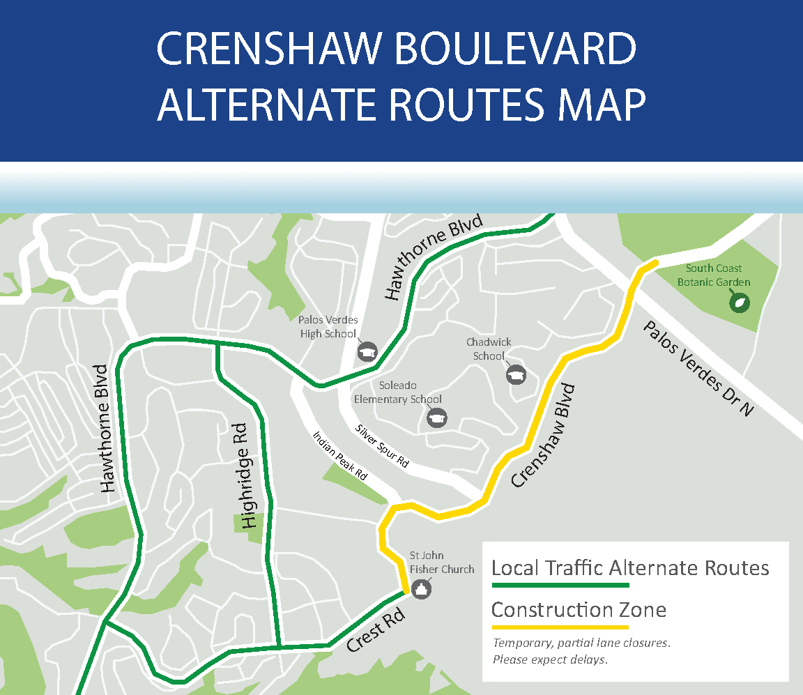 Crenshaw alternate routes