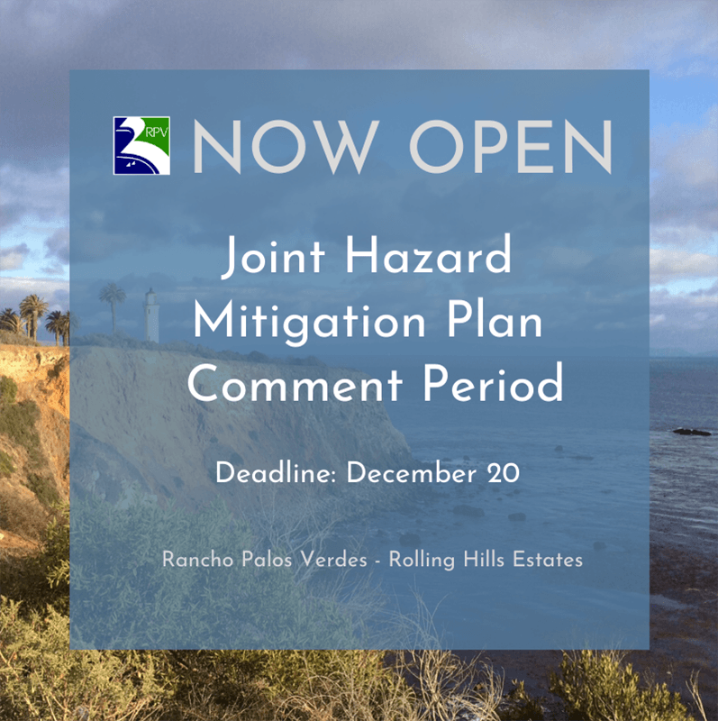 Joint Mitigation Hazard Plan Public Comment Open