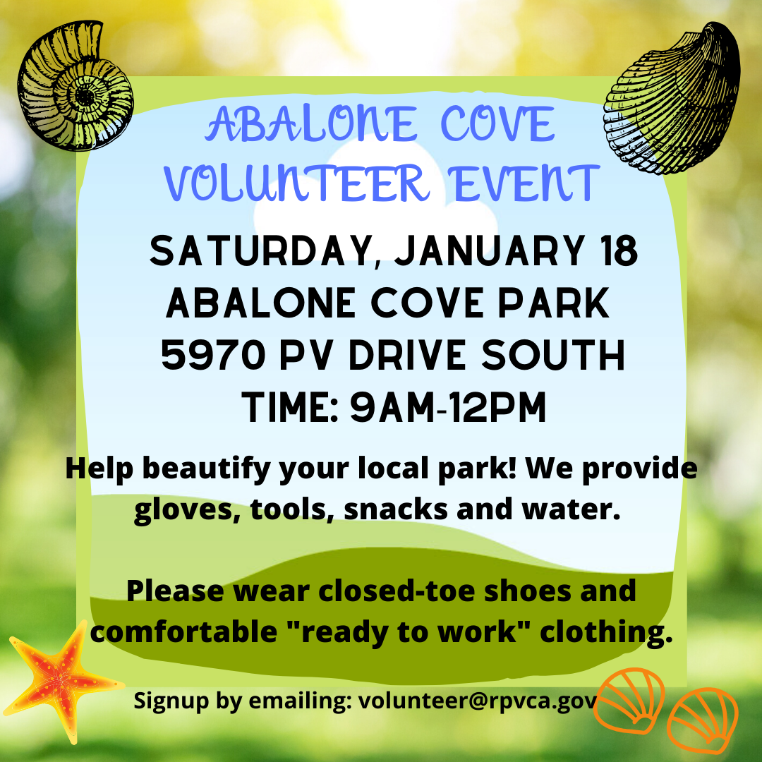 Volunteer Events - Abalone Cove
