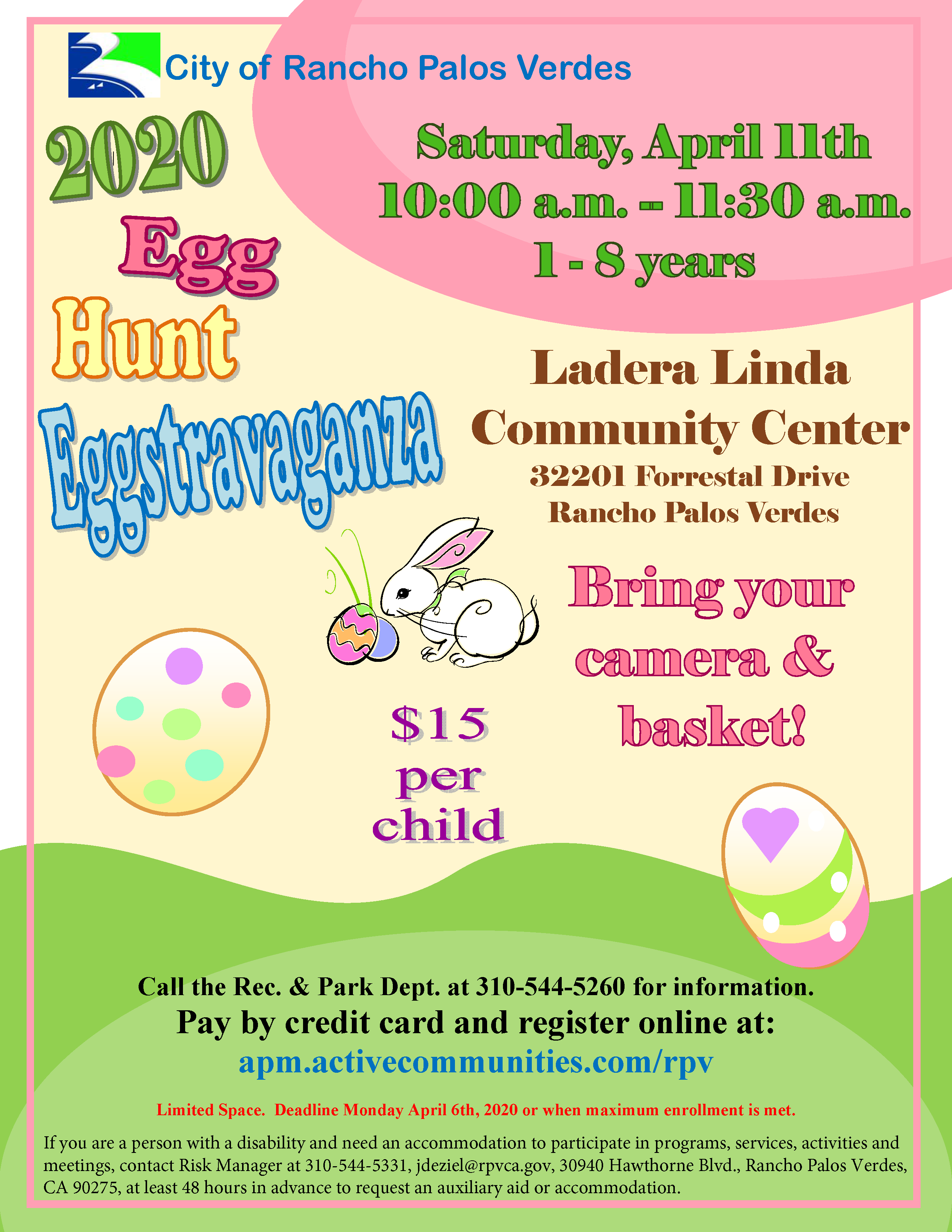 Egg Hunt 2020 Flyer