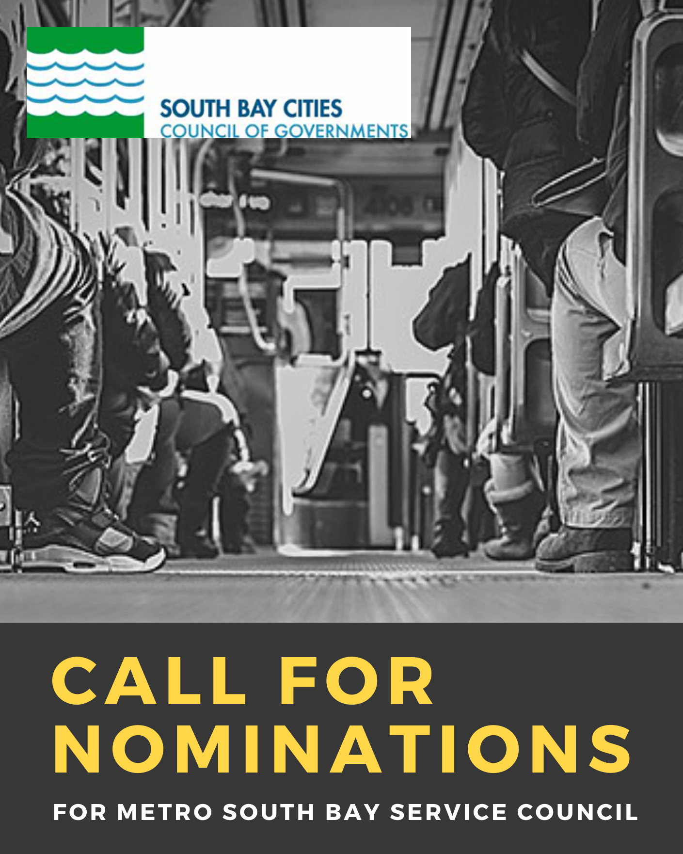 SBCCOG - Call for Nominations (METRO South Bay Services Council)