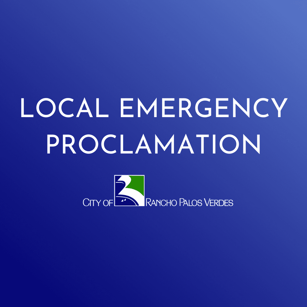 Local Emergency Proclamation graphic