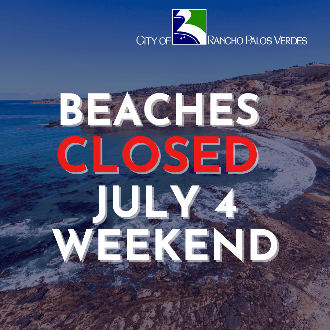 Beaches Closed July 4