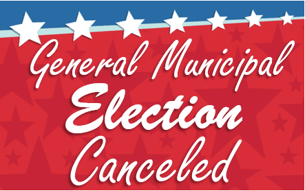 General Municipal Election Canceled