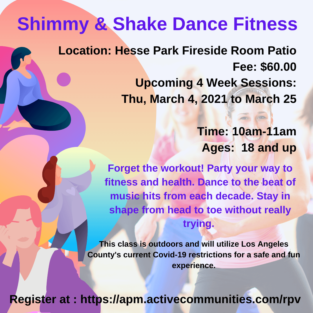 Shimmy Shake Dance Fitness