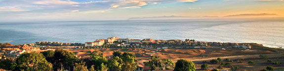 Panoramic View of the Terranea Hotel Resort and Spa