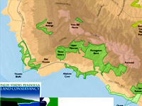 Palos Verdes Peninsula Land Conservancy map