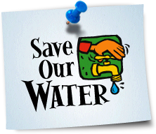 Save Our Water - Hand Turning Spigot