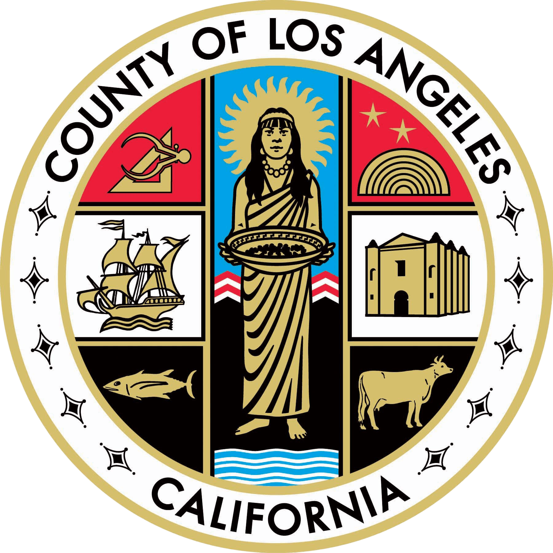County of Los Angeles California Seal
