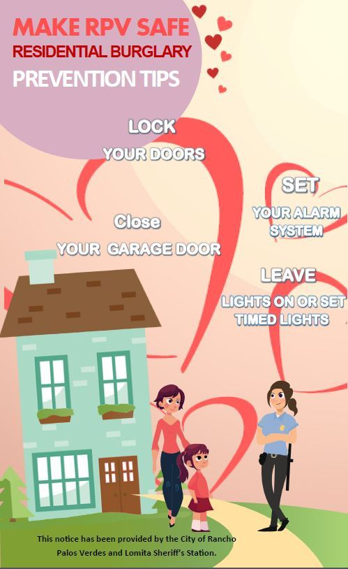 Valentines Day Residential Safety