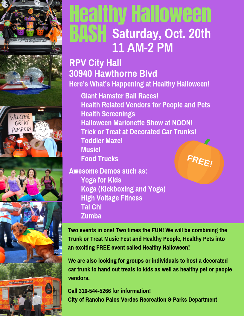 Copy of Healthy HalloweenBash