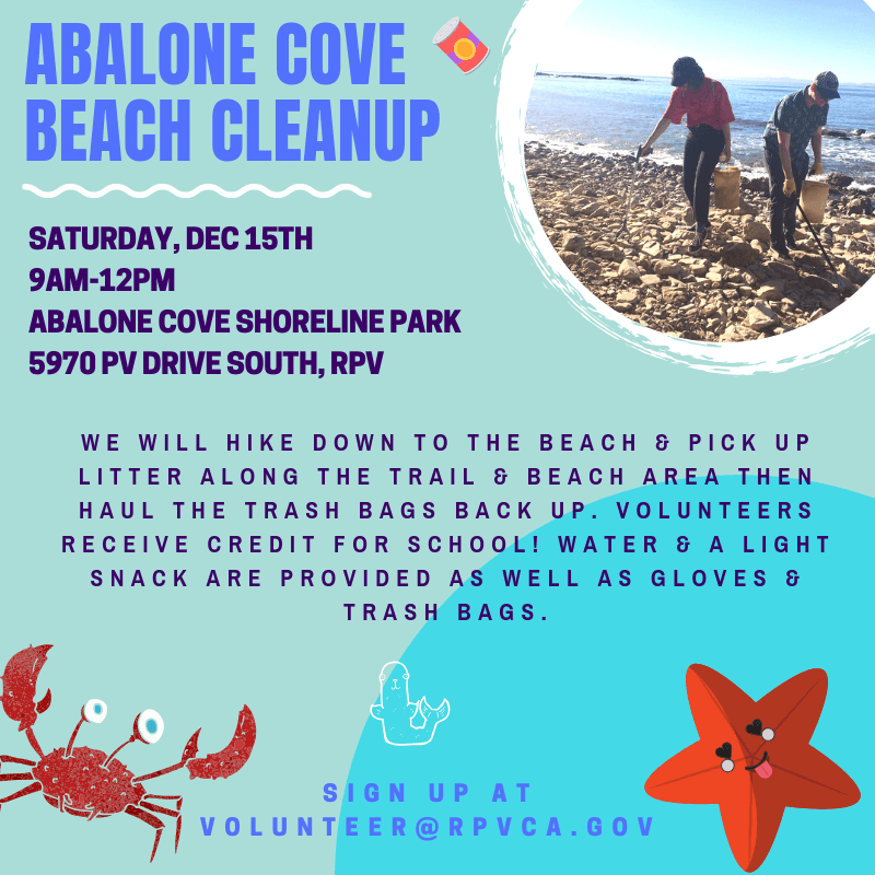 Abalone Cove Reserve Clean-Up