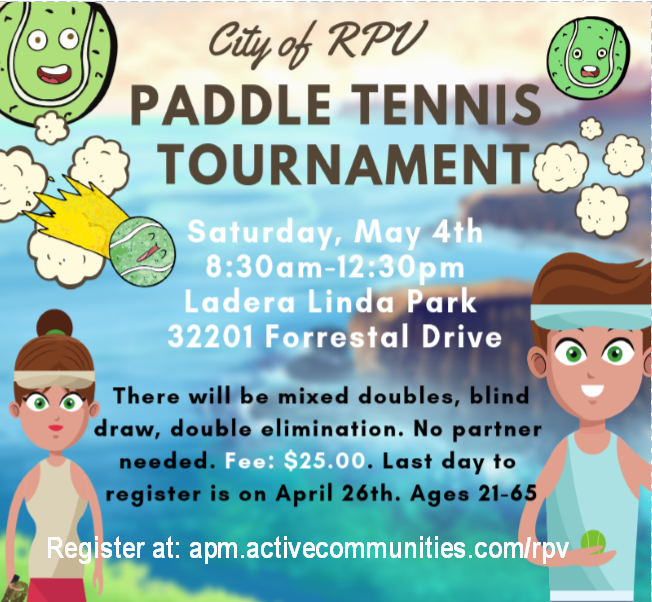 paddle tennis tourney