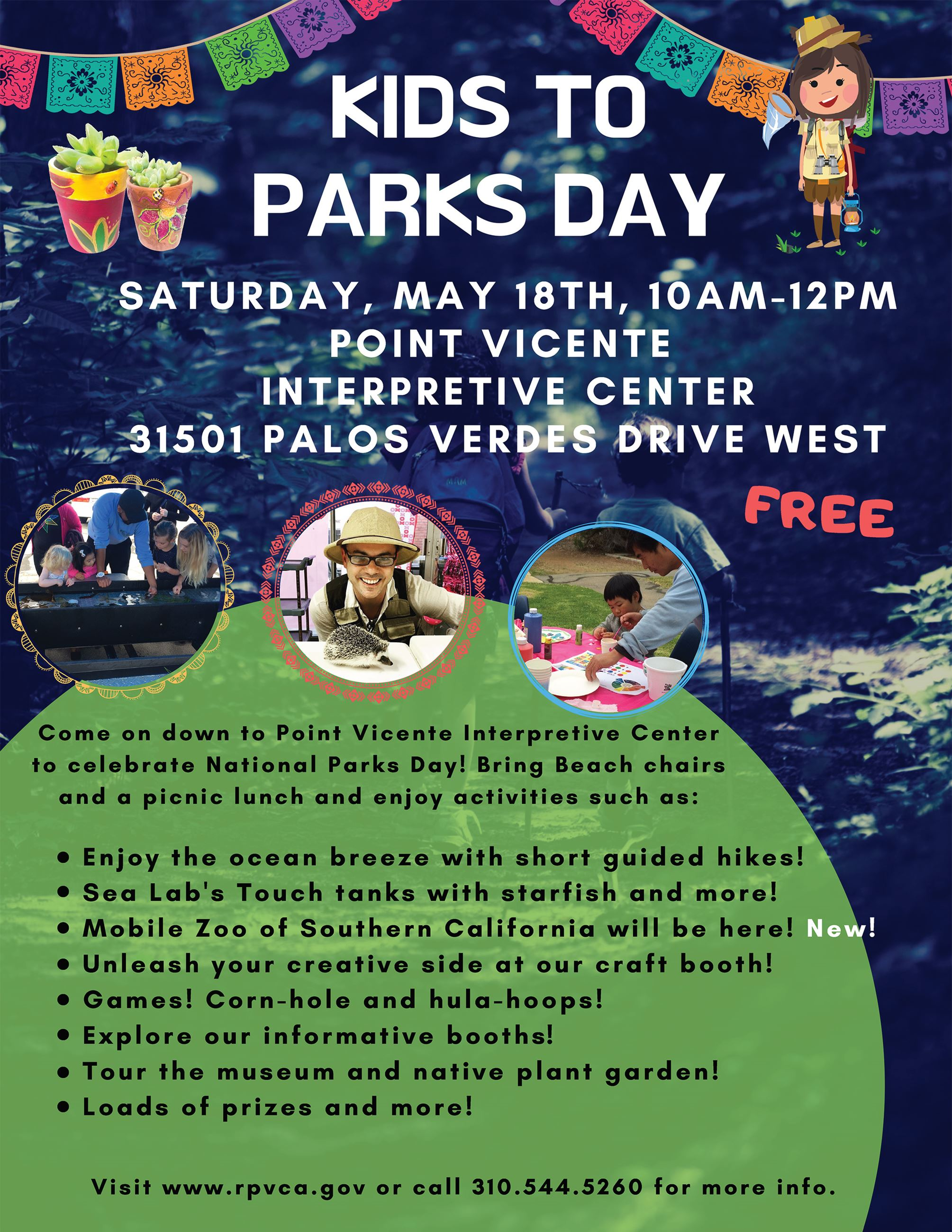 Kids to Parks Day 2019 Flyer