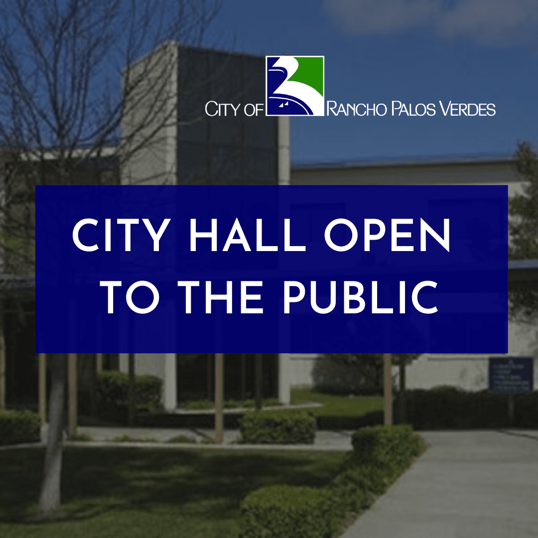 City Hall Open to the Public