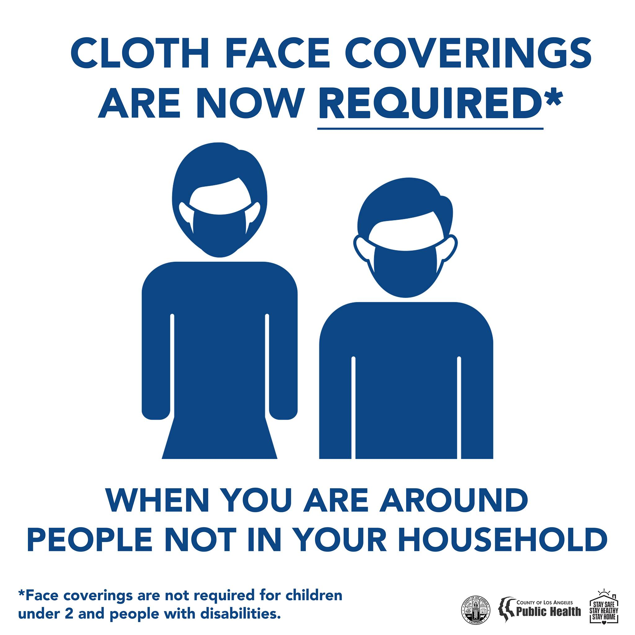 Cloth Face Coverings Now Required